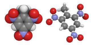 Trinitrotolueen (TNT) Stock Afbeelding