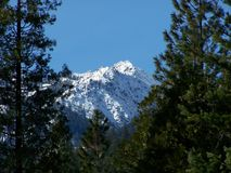 Trinity Alps Peak. An unnamed peak in the Trinity Alps in Northern California Stock Image