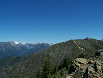 Trinity Alps Vista Stock Photography