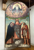 The Trinity Altarpiece in Castelvecchio Museum. Verona Stock Images
