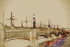 Trinity Bridge Royalty Free Stock Photography