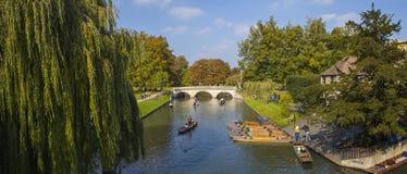 Trinity Bridge in Cambridge Royalty Free Stock Photography