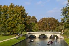 Trinity Bridge in Cambridge Royalty Free Stock Image