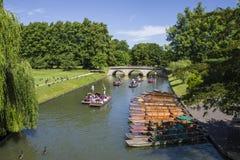 Trinity Bridge in Cambridge Stock Photos