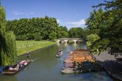 Trinity Bridge in Cambridge Royalty Free Stock Photos
