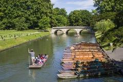 Trinity Bridge in Cambridge Royalty Free Stock Images