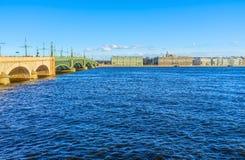 The Trinity Bridge Stock Photo