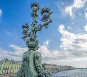 Trinity Bridge St. Petersburg Royalty Free Stock Images