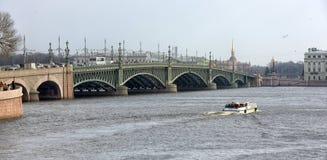 Trinity Bridge Stock Image