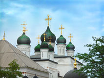Trinity Cathedral of Astrakhan Royalty Free Stock Image