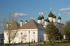 Trinity Cathedral in Astrakhan Kremlin Stock Image
