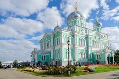 Trinity Cathedral of Holy Trinity Seraphim-Diveevo monastery, Di Royalty Free Stock Image