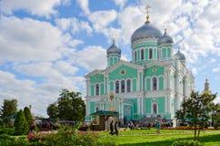Trinity Cathedral of Holy Trinity Seraphim-Diveevo monastery, Di Stock Image