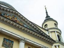 Trinity Cathedral in Kaluga in Russia. Stock Photo