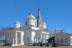 Trinity Cathedral in Kineshma, Russia Stock Photography