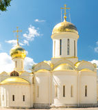 Trinity Cathedral in Lavra of St. Sergius, Sergiev Posad, Russia. Royalty Free Stock Images