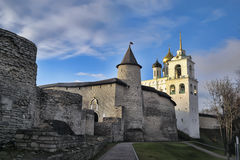 The Trinity Cathedral located since 1589 in Pskov Royalty Free Stock Photography