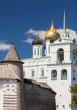 The Trinity Cathedral located since 1589 in Pskov Royalty Free Stock Images