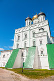The Trinity Cathedral located since 1589 in Pskov Krom Royalty Free Stock Image