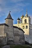 The Trinity Cathedral located since 1589 in Pskov Stock Images