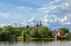 Trinity Cathedral in Ostashkov Royalty Free Stock Images