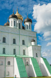 Trinity cathedral in Pskov Kremlin Stock Photography
