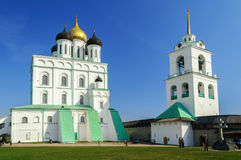 Trinity Cathedral, Pskov Royalty Free Stock Photo