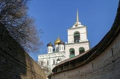 Trinity Cathedral, Pskov Royalty Free Stock Photos