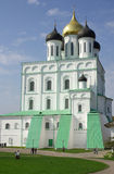 Trinity Cathedral in Pskov, Russia Royalty Free Stock Photo