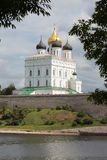 Trinity Cathedral, Pskov, Russia Royalty Free Stock Photography