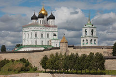 Trinity Cathedral, Pskov, Russia Royalty Free Stock Image