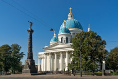 Trinity Cathedral in Saint Petersburg Royalty Free Stock Photo