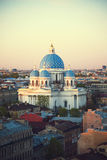 The Trinity Cathedral in Saint Petersburg Stock Photo