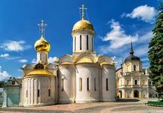 Trinity Cathedral in Sergiyev Posad Royalty Free Stock Photo