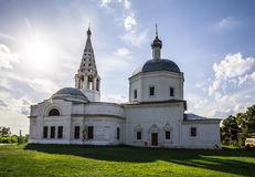 Trinity Cathedral in Serpukhov Stock Photography