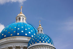Trinity Cathedral in st. Petersburg, Russia Stock Images