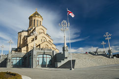 Trinity cathedral in Tbilis Royalty Free Stock Images