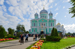 Trinity Cathedral and Transfiguration Cathedral in Holy Trinity Stock Photos
