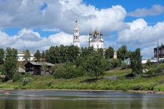 Trinity cathedral in Verkhoturye, Russia Royalty Free Stock Photo