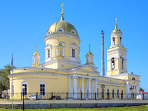 Trinity Cathedral in Yekaterinburg, Russia Stock Photos