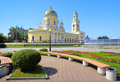 Trinity Cathedral in Yekaterinburg, Russia Royalty Free Stock Photo