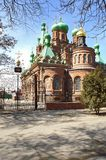 Trinity Church. In Krasnodar by Russia Royalty Free Stock Photo