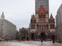Trinity Church, Boston Stock Photos