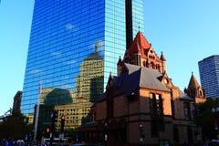 Trinity Church Boston Stock Image
