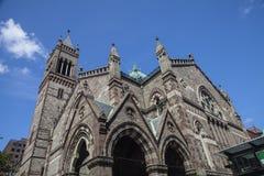 Trinity Church. In Boston Massachusetts Royalty Free Stock Photo