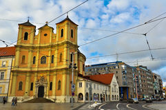 Trinity Church in Bratislava Stock Images