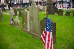 Trinity church cemetery Royalty Free Stock Images