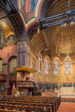 Trinity Church, Copley Square, Boston. Interior shots of this magnificent space Stock Photos