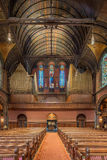 Trinity Church, Copley Square, Boston. Interior shots of this magnificent space Stock Images