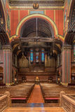 Trinity Church, Copley Square, Boston. Interior shots of this magnificent space Stock Photo